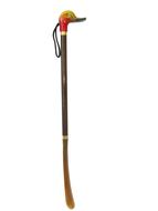 Obuvák na obuv drevoplastový farebný - kačica - 60 cm