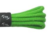 Šnúrky bavlnené guľaté tenké 60 cm zelená