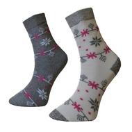 Art. 19 Dámske zimné termo ponožky Vločka Knebl Hosiery
