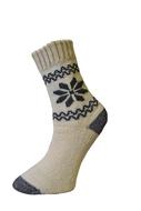 Art. 44 Zimné vlnené Termo ponožky Vločka Knebl Hosiery