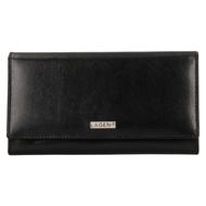 Dámska peňaženka LAGEN kožená 50038 BLK