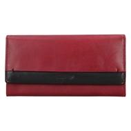 Dámska peňaženka LAGEN kožená 50400 CARDINAL/BLK
