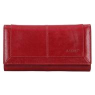 Dámska peňaženka LAGEN kožená BLC/4228 RED/RED