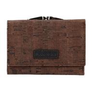 Dámska peňaženka LAGEN 50178 CARAMEL/GREY