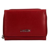 Dámska peňaženka LAGEN kožená 50453 RED