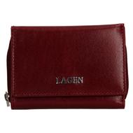 Dámska peňaženka LAGEN kožená 50453 CHERRY