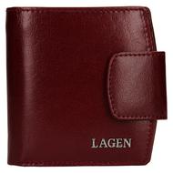 Dámska peňaženka LAGEN kožená 50465 CHERRY
