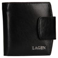Dámska peňaženka LAGEN kožená 50465 BLK