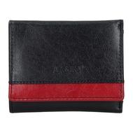 Dámska peňaženka LAGEN kožená BLC/160231 BLK/RED