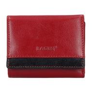 Dámska peňaženka LAGEN kožená BLC/160231 RED/BLK