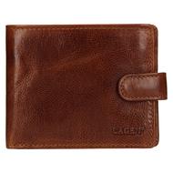Pánska peňaženka LAGEN kožená E-1036/T TAN