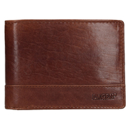 Pánska peňaženka LAGEN kožená LM-64665/T TAN