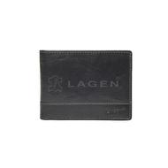 Pánska peňaženka LAGEN kožená LM-64665/T BLK
