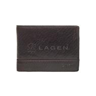Pánska peňaženka LAGEN kožená LM-64665/T DBR