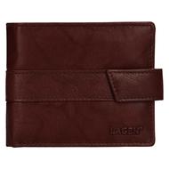 Pánska peňaženka LAGEN kožená V-03 BRN