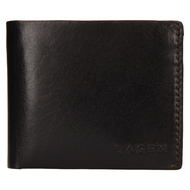 Pánska peňaženka LAGEN kožená TS-508 BRN