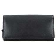 Čašnícka peňaženka LAGEN kožená LG-02 BLK