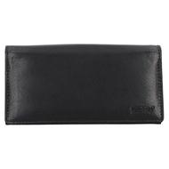 Čašnícka peňaženka LAGEN kožená LG-01 BLK