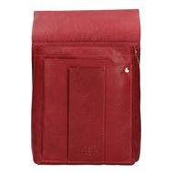 Púzdro na čašnícku peňaženku LAGEN kožené 5167 RED