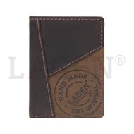 Pánska peňaženka LAGEN kožená 51145 BRN