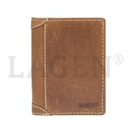 Pánska peňaženka LAGEN kožená 51146 TAN