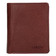 Pánska peňaženka LAGEN kožená 02310004 BRN