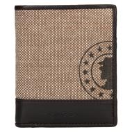 Pánska peňaženka LAGEN kožená 50449 L.BEIGE/D.BRN
