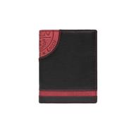 Pánska peňaženka LAGEN kožená LG-1813 BLK/RED